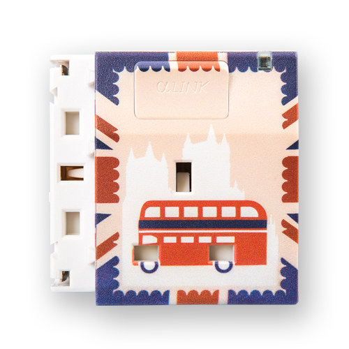 Individual Extendable Socket - Double Decker