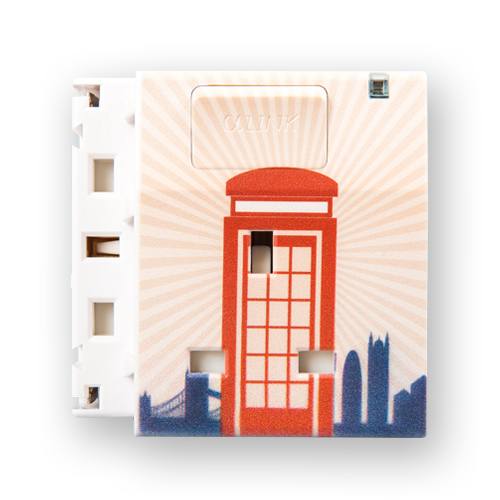 Individual Extendable Socket - Telephone Box