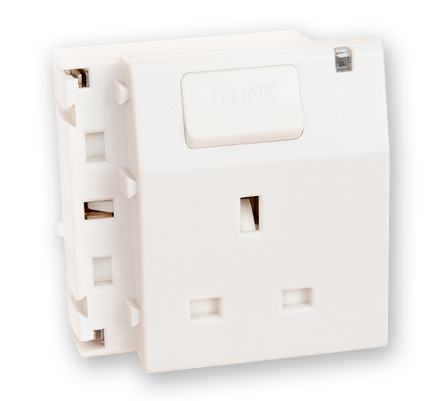 1-Outlet (white)